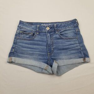 American Eagle Outfitters Hi Rise Shorts 6